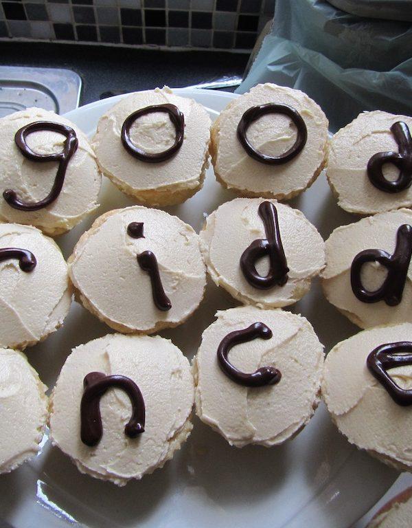 Departure Cupcakes!