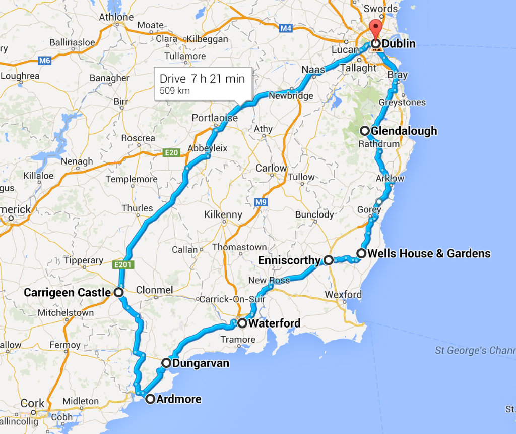 roadtripmap_irelandapril2014