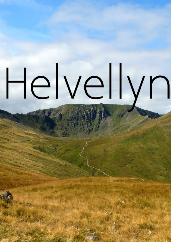 Conquering Helvellyn: England's 3rd Highest Peak