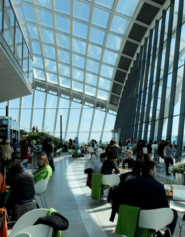 London's Free Viewpoint: The Sky Garden