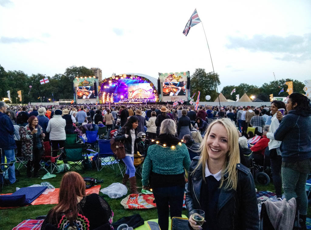 Olivia Leaves | Proms in the Park