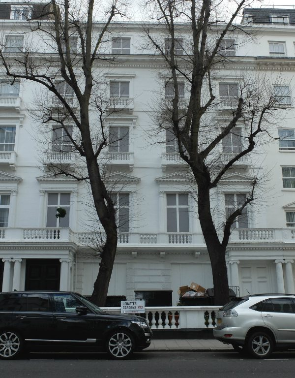 The Secret of London's Leinster Gardens