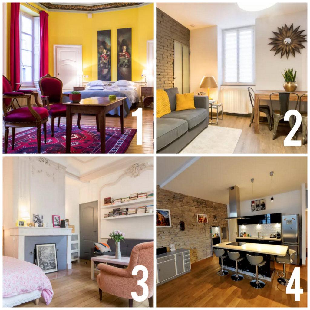 Airbnb's in Dijon