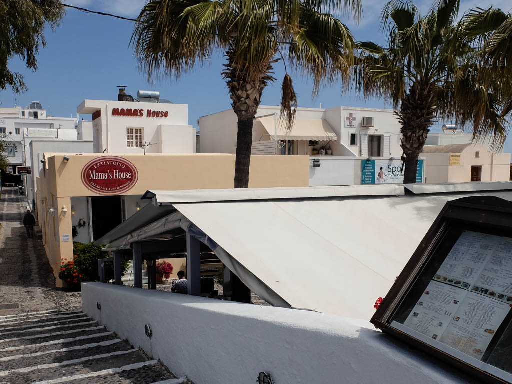 Olivia Leaves | Santorini