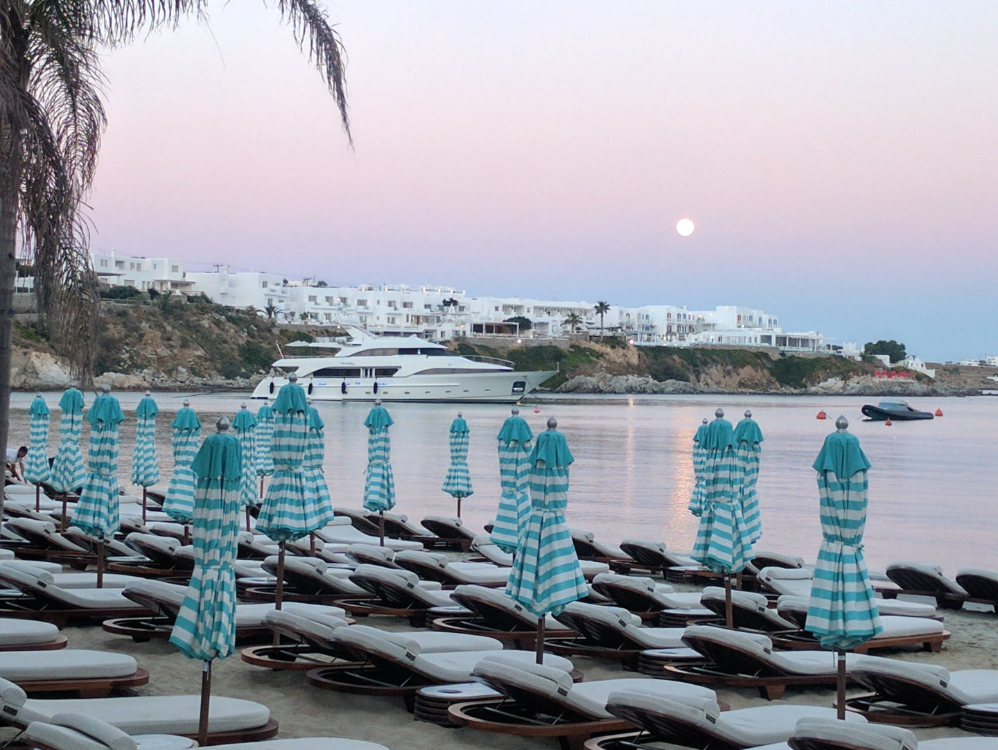 Olivia Leaves | Beaches of Mykonos | Psarou