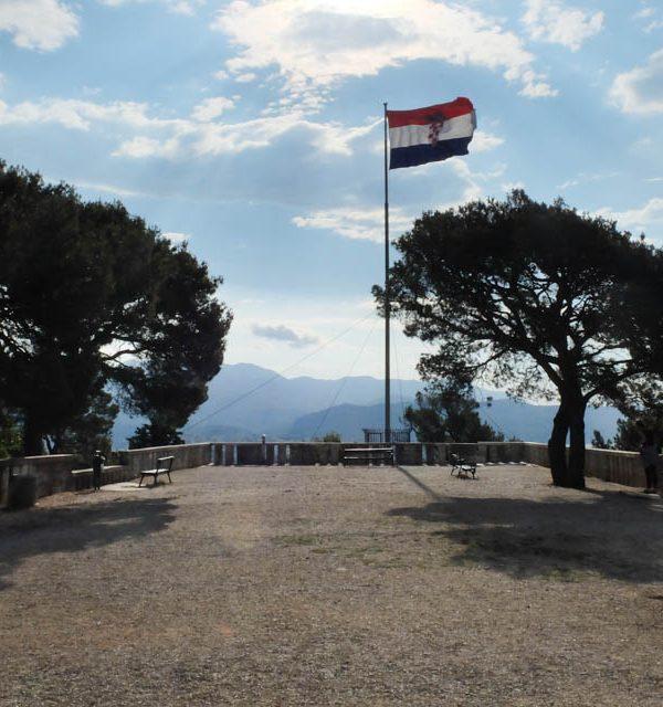 The View from Marjan Hill in Split, Croatia
