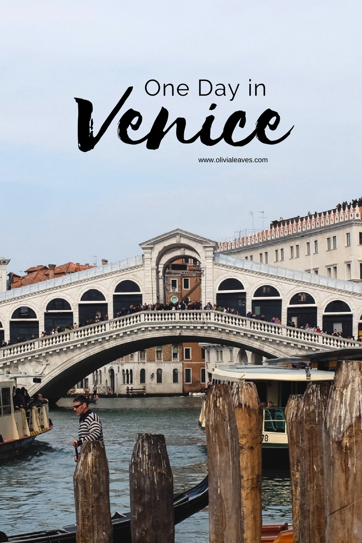 Olivia Leaves | A Day in Venice