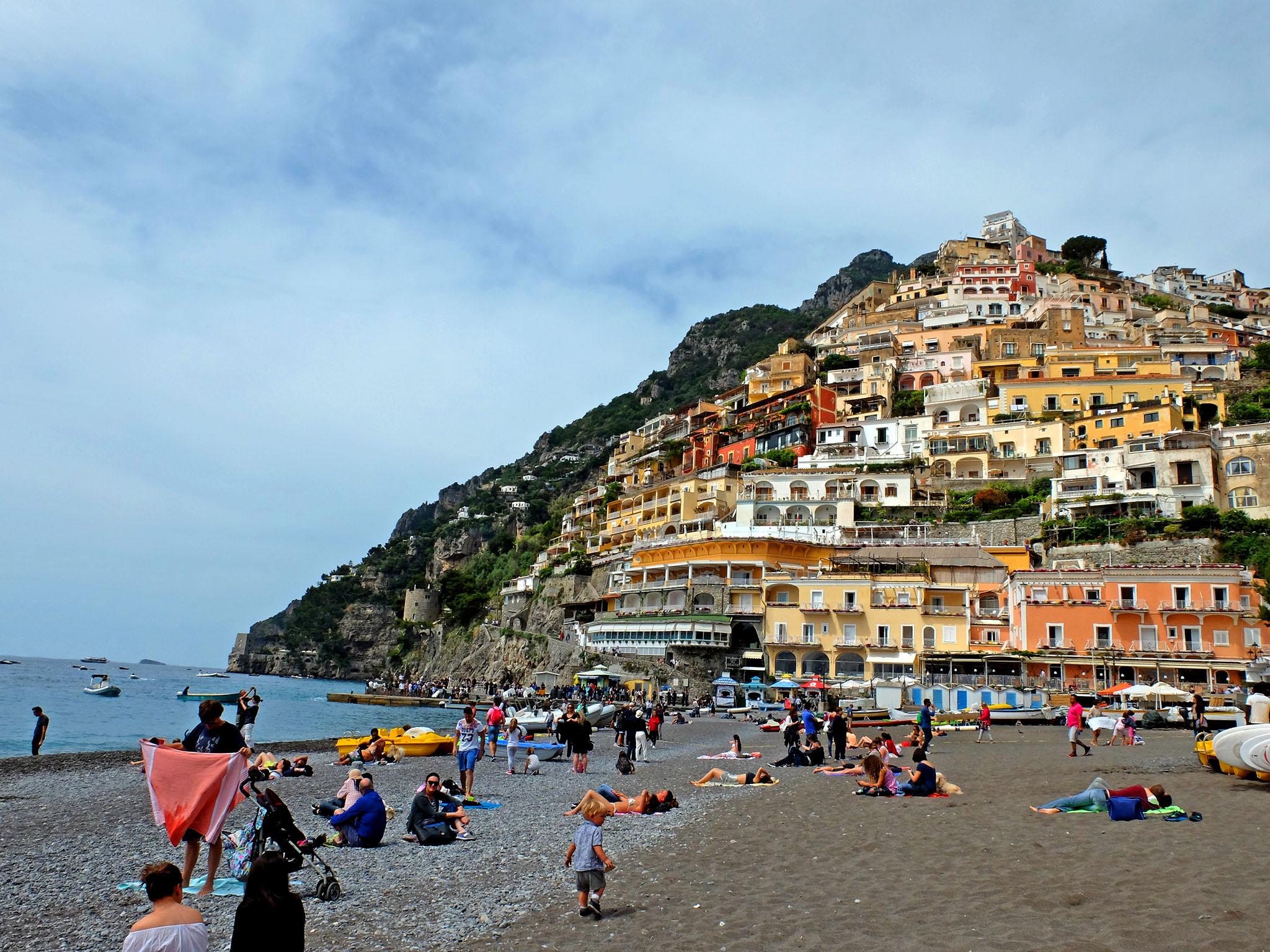 Olivia Leaves   Visiting the Amalfi Coast